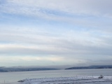 Blått och vitt är vinterns färgpalett
