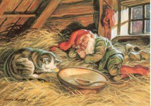 Jenny Nyströms julkort