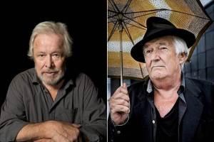 Sven Wollter och Henning Mankell