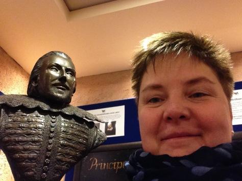 Selfie med Shakespeare ;)