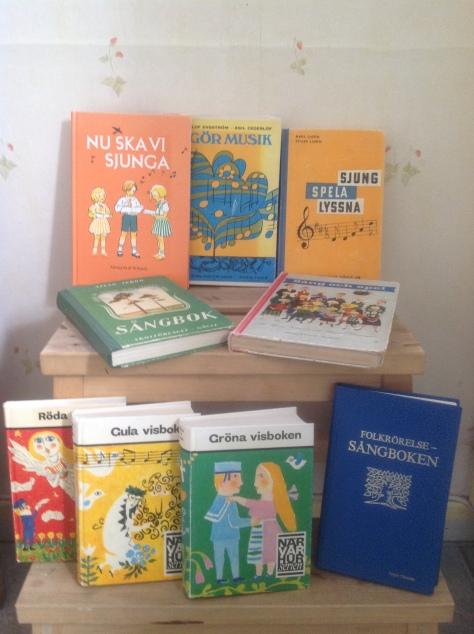 #stamsånger, #kanon, #Äldre sångböcker- Nu ska vi sjunga, m fl