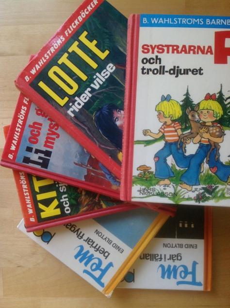 En bokslukares första litteratur...