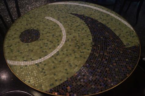Mosaikbord på Wolfsonian