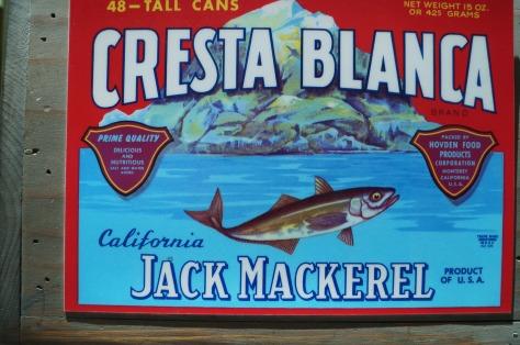 Sardinburksomslag från Cannery Row
