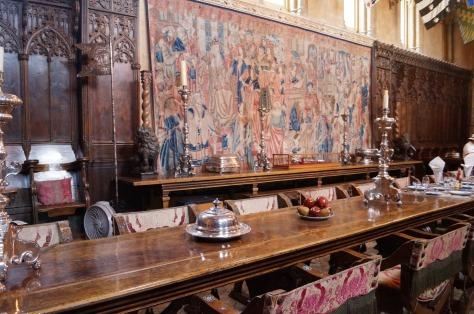 Matsalen på Hearst Castle