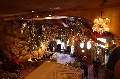 Interiör på Madonna Inn, San Luis Obispo,