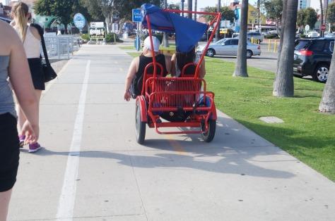 Trampbil i Long Beach