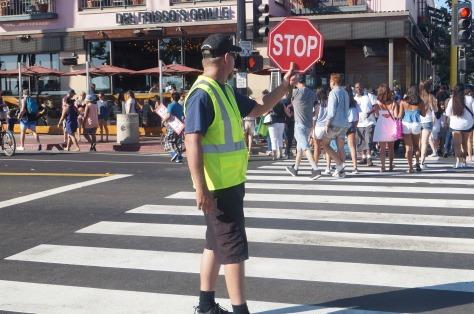 Koll på gångtrafikanterna