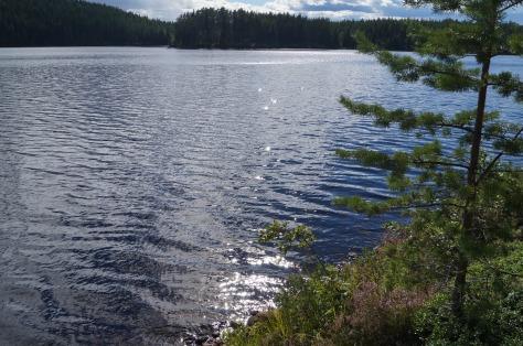 sjö vid Malingarna